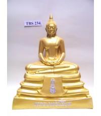 พระบูชาหลวงพ่อพระพุทธโสธร หน้าตัก 7 นิ้ว ( พ่นทอง )