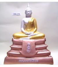 พระบูชาหลวงพ่อพระพุทธโสธร หน้าตัก 9 นิ้ว ( ลายสามกษัตริย์ )
