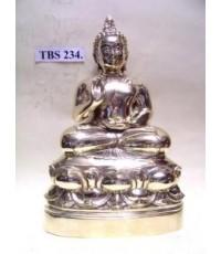 พระบูชา พระพุทธทักษิณมิ่งมงคล วัดเขากง จังหวัด นราธิวาส หน้าตัก 5 นิ้ว เนื้อทองเหลือง