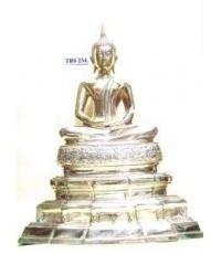 พระบูชา พระพุทธสิหิงค์ หน้าตัก 9 นิ้ว เนื้อทองเหลือง ประเสริฐ ธ เกริกไกร ดุจกายพระศาสดา