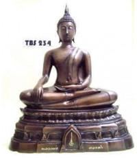 พระบูชาพระพุทธมหาสุวรรณปฏิมากร วัดไตรมิตรวิทยารามวรวิหาร หน้าตัก 9 นิ้ว ประกายแสงทองแห่งธรรม