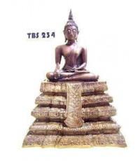 พระบูชาพระพุทธนาคน้อย วัดประยุรวงศาวาสวรวิหาร หน้าตัก 5 นิ้ว เขตธนบุรี กรุงเทพ มงคลชีวิต