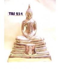 พระบูชาหลวงพ่อโสธร วัดโสธรวรารามวรวิหาร หน้าตัก 7 นิ้ว ภปร. เนื้อทองเหลือง ปี2536