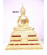 พระบูชา พระประธานยิ้มรับฟ้า หน้าตัก 9 นิ้ว วัดระฆังโฆสิตาราม ปี 2537 กรุงเทพ สิริมงคลชีวิต