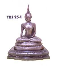 พระบูชาหลวงพ่อเหลือ วัดสร้อยทอง หน้าตัก 5 นิ้ว  ปี2551 บางซื่อ กรุงเทพมหานคร มงคลชีวิต
