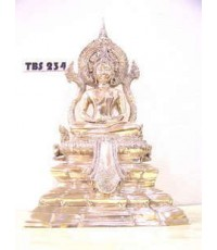 พระบูชา พระพุทธสิงหลมงคลโสภิต วัดเศวตฉัตรวรวิหาร หน้าตัก 5 นิ้ว เนื้อทองเหลือง มงคลชีวิต