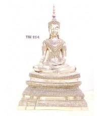 พระบูชาหลวงพ่อ พระพุทธนิมิตวิชิตมาร วัดหน้าพระเมรุราชิการาม หน้าตัก 9 นิ้ว พระนครศรีอยุธยา มงคลชีวิต