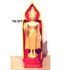 พระบูชาพระพุทธศิริโรจนไชยมงคล สูง 15 นิ้ว วัดท่าไชยศิริ บ้านลาด จังหวัดเพชรบุรี เสริมสิริมงคลชีวิต