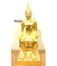 พระบูชาหลวงพ่อโต วัดทัศนารุณสุนทริการาม กรุงเทพมหานคร หน้าตัก 9 นิ้ว (ปิดทอง) สิริมงคลชีวิต