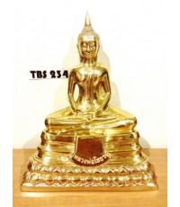 พระบูชาหลวงพ่อโสธร วัดโสธรวรารามวรวิหาร หน้าตัก 7 นิ้ว เนื้อทองเหลือง ปี2558 รุ่น5