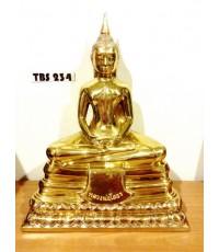 พระบูชาหลวงพ่อโสธร วัดโสธรวรารามวรวิหาร หน้าตัก 9 นิ้ว เนื้อทองเหลือง ปี2559 รุ่น6