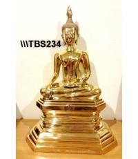 พระบูชาหลวงพ่อพระเสริม วัดปทุมวนารามราชวรวิหาร หน้าตัก 9 นิ้ว เขตปทุมวัน กรุงเทพ สิริมงคลชีวิต