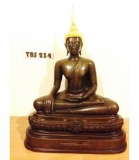 พระบูชาหลวงพ่อพระเจ้าองค์ตื้อ หน้าตัก 9 นิ้ว วัดศรีชมภูองค์ตื้อ อำเภอท่าบ่อ หนองคาย เสริมสิริมงคล