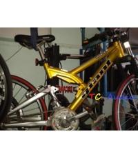 จักรยานเสือภูเขา GIANT  อลูมิเนียม  โช๊คหน้าและโช๊คกลาง แสภาพสวยมาก มือสองญี่ปุ่น
