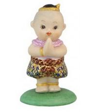 ตุ๊กตาเด็กไทย ยืนสวัสดี (หญิง)