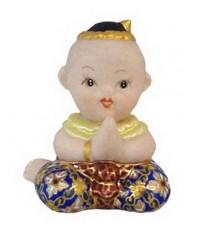 ตุ๊กตาเด็กไทย นั่งสวัสดี (หญิง)