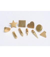 หัวทองเหลือง เครื่องเขียนฟอยล์ Antex รุ่น Foil Master ( 1 ชุด 10 รูปแบบ)