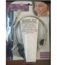 ชุดหูฟัง Multimedia รุ่น HSMT1 (ไมค์ + หูฟังข้างเดียว)