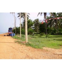 ที่ดินติดถนนเลียบชายทะเล ปราณบุรี เนื้อที่ 2-2-70 ไร่ ห่างเอวาซอนรีสอร์ทประมาณ 250 เมตร