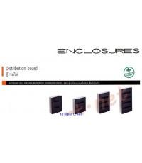 Bticino อุปกรณ์ควบคุมไฟฟ้า ENCLOSURES รุ่น Distribution board ตู้รวมไฟ