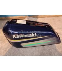 ถังน้ำมัน Kawasaki GTO M6 Fuel tank แท้ สีน้ำเงิน สินค้า Pre order