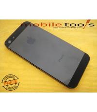 เคสกลางไอโฟน 5 (สีดำ)