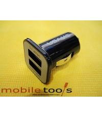 ชาร์จรถ iPhone 5 ขนาด 3.1 A (สีดำ)