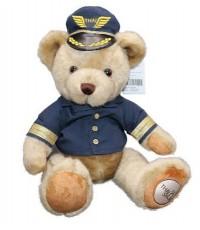 ตุ๊กตาหมีใส่ชุดกัปตัน