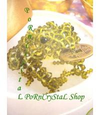 @* KEY CHAINS *@ Swarovski Crystal : [ Frog ]