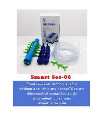 ชุดปั๊มลม Jeneca AP10000 พร้อมอุปกรณ์ Smart Set 06