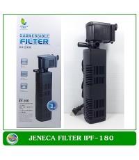 ปั้มน้ำพร้อมกระบอกกรองในตู้ Jeneca IPF-180 สำหรับตู้ปลาขนาด 18-30นิ้ว
