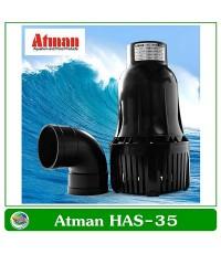 ปั๊มหอยโข่ง ปั๊มน้ำประหยัดไฟ ATMAN HAS-35