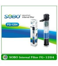 SOBO FG-1204 ปั้มน้ำพร้อมกรองภายในตู้ปลา วัสดุกรอง 4 ชั้น