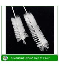 Brush set ชุดแปรงทำความสะอาดท่อขนาดเล็ก (1 ชุด มี 4 ด้าม)