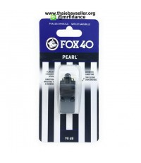 นกหวีด FOX 40 Pearl (สีดำ) ของแท้ ของใหม่
