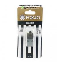 นกหวีด FOX 40 Classic (สีดำ) ของแท้ ของใหม่