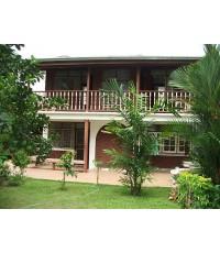 (มีผู้เช่าแล้ว) บ้านเช่าถูกๆ แบบไทยๆ บรรยากาศบ้านสวน สวยร่มรื่น เงียบสงบ ใกล้คาร์ฟู @ รามอินทรา