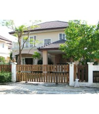 (มีผู้เช่าแล้ว) บ้านเช่าราคาถูก! หมู่บ้านสโรชา อยู่ใกล้ห้าง Big-C ลำลูกกาคลอง5 บ้านน่าอยู่@ ลำลูกกา