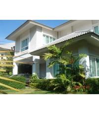 (มีผู้เช่าแล้ว) ให้เช่าบ้านสวย! ม.กลอรี่เฮาส์  บ้านหลังมุมน่าอยู่  สวนสวย ไปม.มหิดล @ พุทธมณฑล