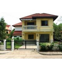 (มีผู้เช่าแล้ว) บ้านเช่าสวย ใหม่ๆ ถูกๆ ม.ปัญญาเลคโฮม มีนบุรี ใกล้โรงเรียนนานาชาติ (นิมิตรใหม่)
