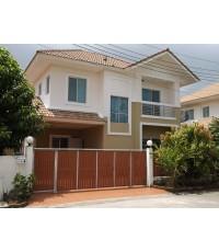 บ้านเดี่ยวสวยๆ ให้เช่าราคาไม่แพง LANCEO วัชรพล-ทางด่วน บ้านพร้อมอยู่ ร่มรื่นใกล้สระว่ายน้ำ(วัชรพล)