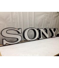 ตัวอักษรกล่องไฟ SONY