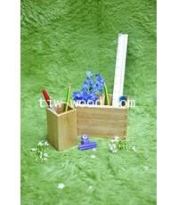 TIW59 กล่องใส่ปากกา ดินสอ 1 ช่อง และ 2 ช่อง