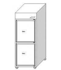 ตู้แช่ยืน 2 ประตู ฟรีส ระบบเดินท่อความเย็น