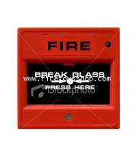 อุปกรณ์แจ้งเหตุด้วยมือกดฐานเหลี่ยม รุ่น WP-01 ยี่ห้อ Warningfire