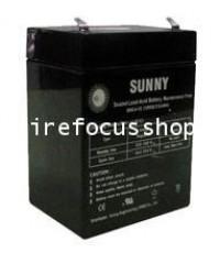 แบตเตอรี่แห้งชนิดตะกั่ว-กรดขนาด 12V, 2.9AH ยี่ห้อ Sunny