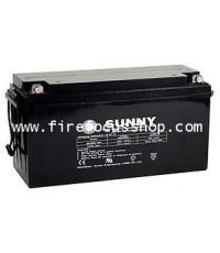 แบตเตอรี่แห้งชนิดตะกั่วกรดขนาด 12V-150AH ยี่ห้อ Sunny