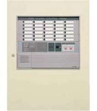 ตู้ควบคุมแจ้งเหตุเพลิงไหม้ 50 โซน 500 Panel รุ่น FAPN128N-B1-50L ยี่ห้อ Nohmi