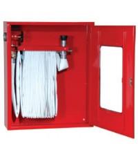 ตู้เก็บสายดับเพลิงแบบพับแขวน (Hose Rack Cabinet) ขนาด 505x485x230 mm. (เฉพาะตู้)
