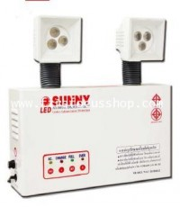 หลอด LED 3W x 2 หลอด,แบตเตอรี่ขนาด 12V-9AH,สว่างนาน 15 ชม. รุ่น NAU203DH15LED ยี่ห้อ Sunny